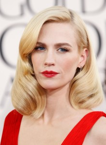 January Jones, inspiration for my Blurb to Book heroine, Cordelia